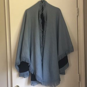 Jackets & Blazers - Stunning heavy weight reversible cape one size